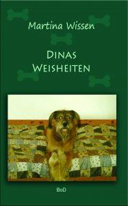 """Buchtitel von Verfasserin Martina Wissen """"Dinas Weisheiten"""""""